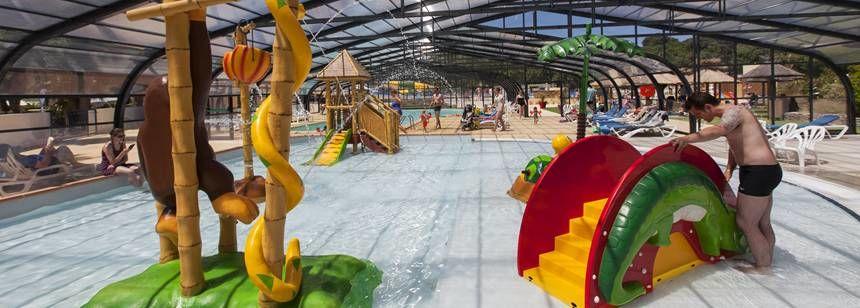 Indoor pool fun at La Yole Wine Resort, Valras-Plage, near Vias