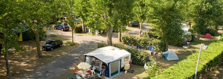 Pitches at La Yole Wine Resort, Valras-Plage, France