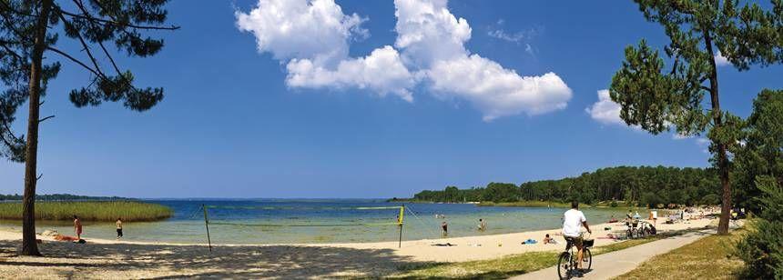Campsite beach