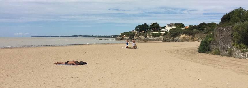 Beach at La Bernerie en Retz, close to Camping Les Ecureuils