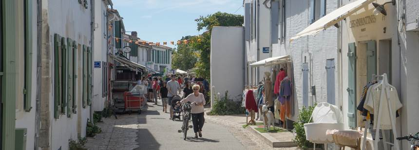 A relaxed pace of life on the Atlantic island of Ile de Ré, France