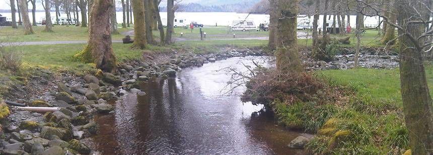 Scenic Views Cashel Camp Site Loch Lomond, Dunbartonshire