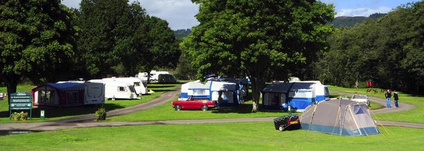 Pitched up at Cobleland