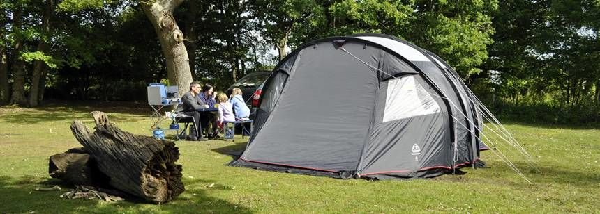 Family Camping Ashurst Camp Site New Forest