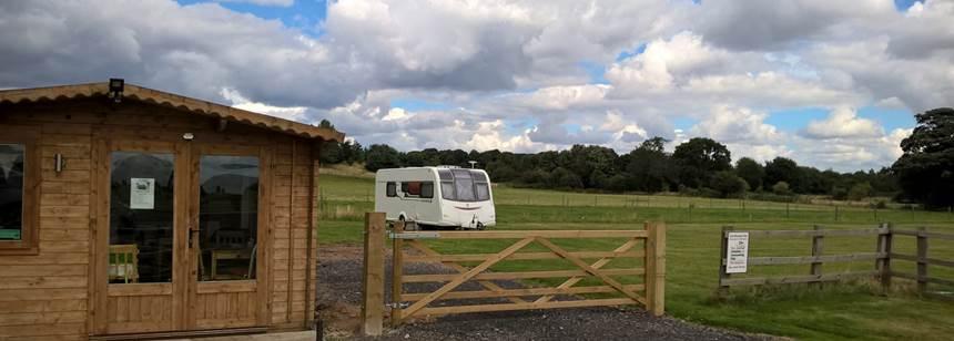 Campsite at Pollington Hall