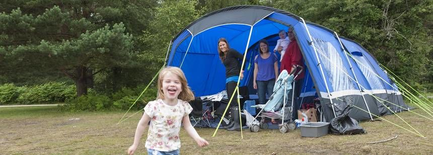 Family Camping Holiday in the New Forest With Roundhill Camp Site