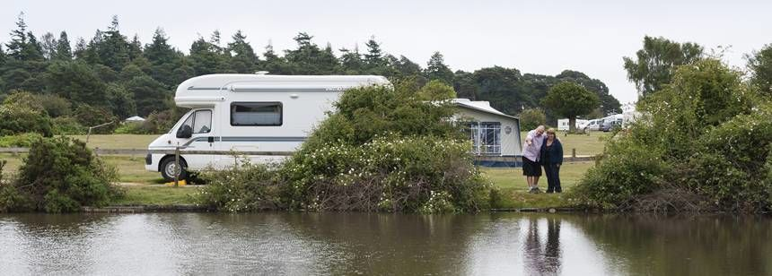 Caravan Pitches in the New Forest With Roundhill Camp Site