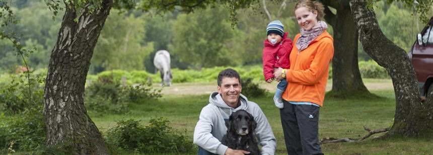 Family Holidays in the New Forest With Roundhill Camp Site