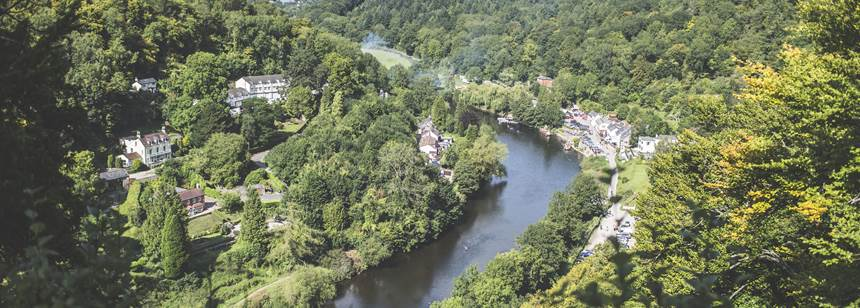 Views from Symonds Yat