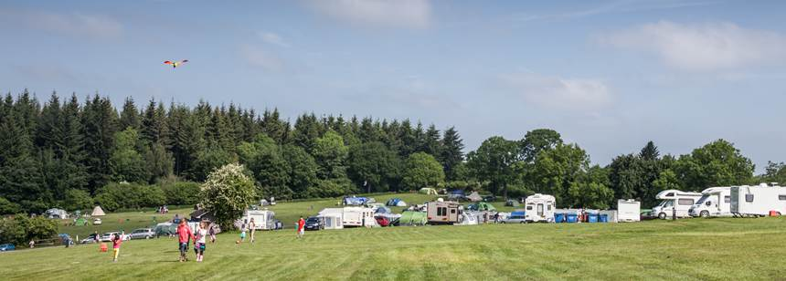 Tent Pitches in the Forest of Dean With Bracelands Camp Site