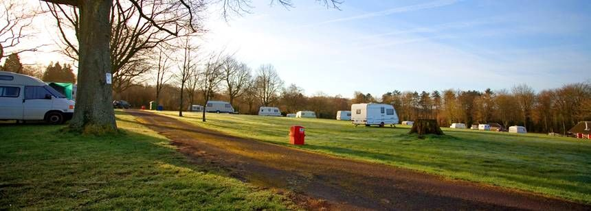 Caravan Pitches in the Forest of Dean With Christchurch Forest Campsite