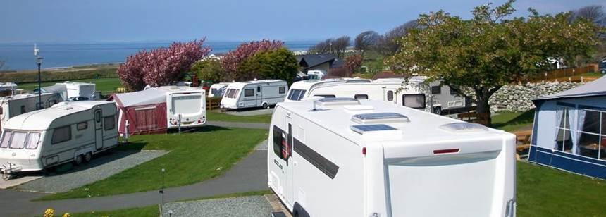 Camping at Trawsdir Touring Park