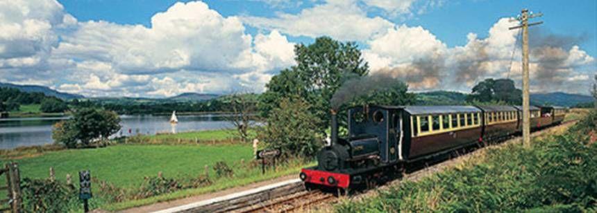 Steam Railway at Bwch yn Uchaf