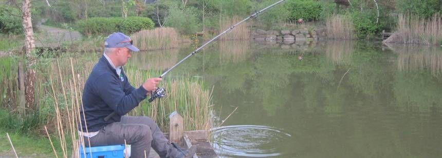 Fisherman on site