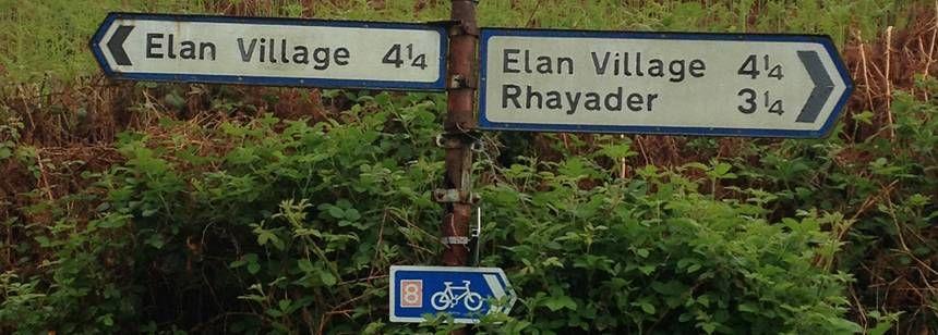 Llanwrthwl-Elan Village Signs