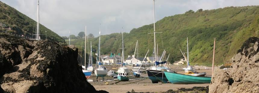 Harbour near Spring Meadow Farm