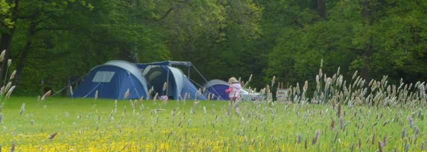 Camping at Cresswell Barn Farm