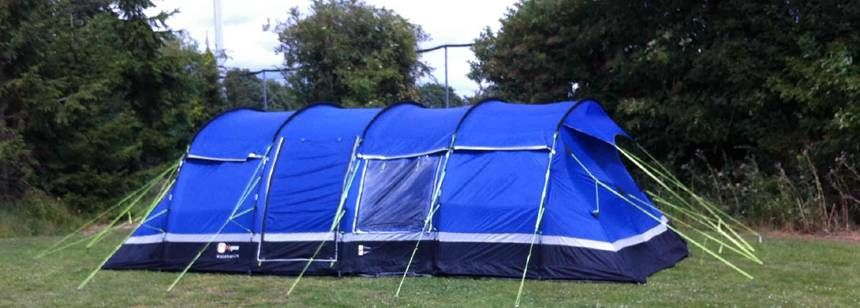Large tent on site