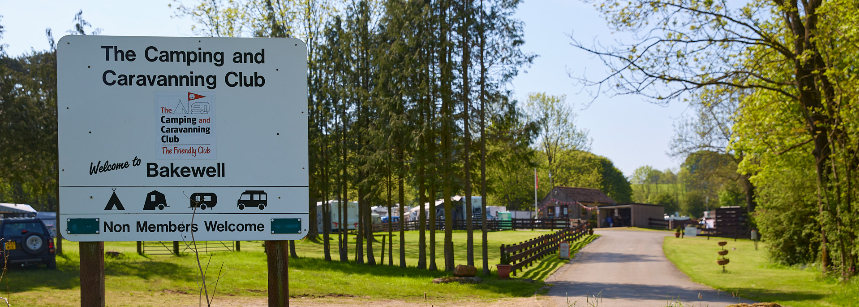 Family Breaks Bakewell Camp Site, Derbyshire
