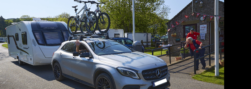 Children'S Play Area Bakewell Camp Site Derbyshire
