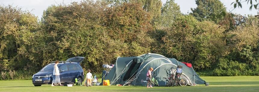 Cambridge campsite