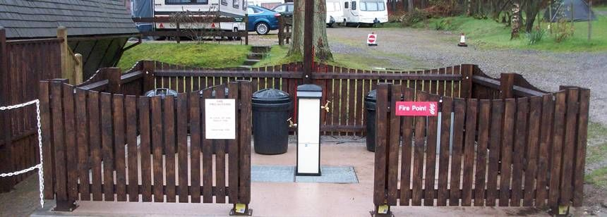 Amenities Provided at Cannock Chase Camp Site, Staffordshire