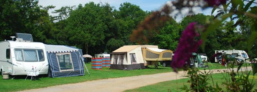 Grass Pitches For Your Mobile Home, Caravan and Tent at Chipping Norton Camp Site, Oxfordshire