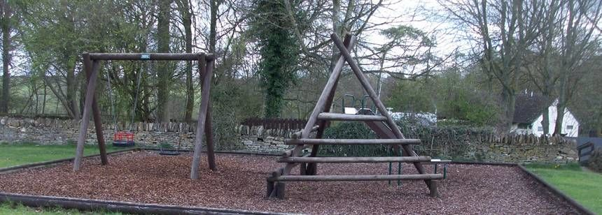 Children'S Play Area at Chipping Norton Camp Site, Oxfordshire