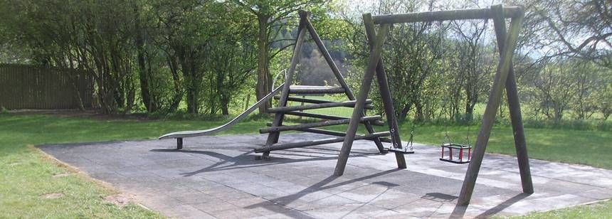 The Children's Play Area at Clent Hills Camp Site, West Midlands