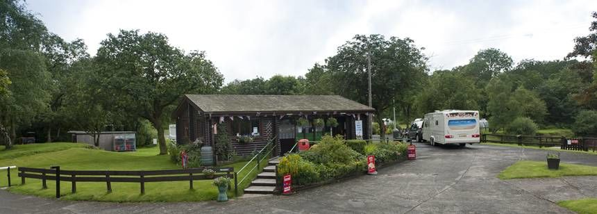 Facilities and Reception at Ebury Hill Camp Site, Shropshire