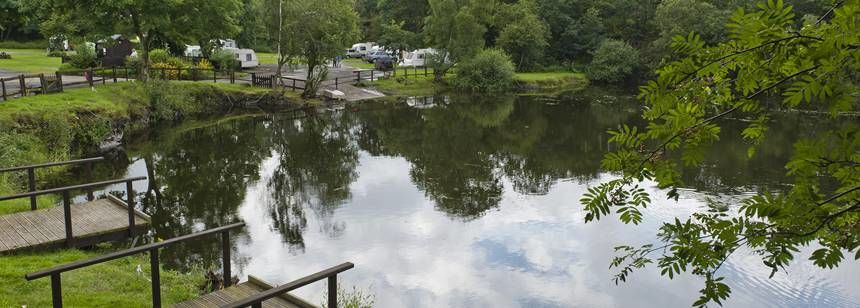 Fishing and Water Sports Opportunities at Ebury Hill Camp Site, Shropshire