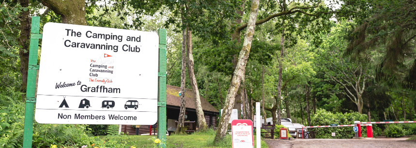 The Splendid Facilities at Graffham Camp Site, West Sussex