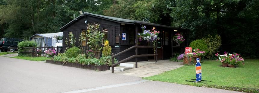 The Onsite Shop at Kelvedon Hatch Camp Site, Essex