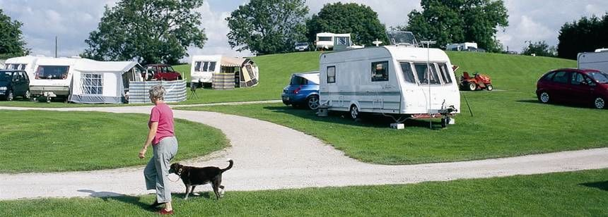 Grass Pitches For Your Tent, Caravan or Motorhome at Kendal Camp Site, Cumbria