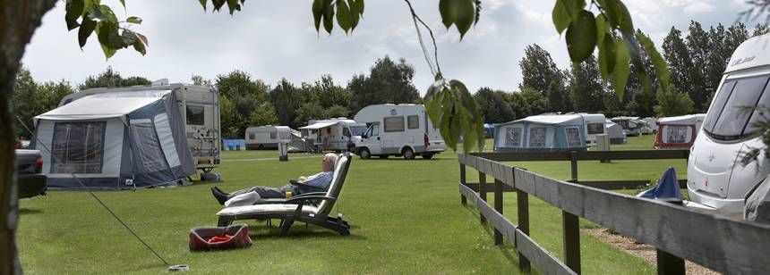Relaxing in the Tranquil Surroundings of Kessingland Camp Site, Suffolk