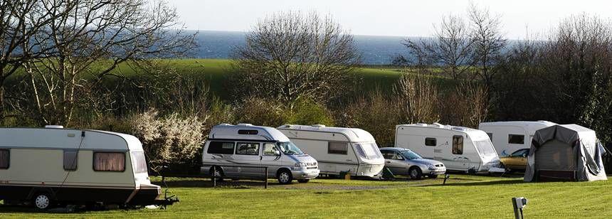 Llanystumdwy wales campsite