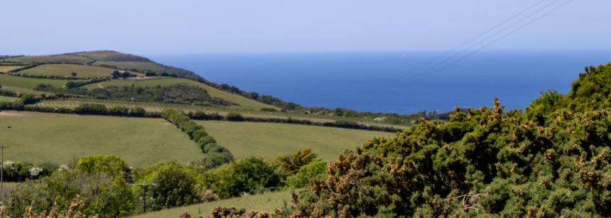 Playground on Lynton campsite