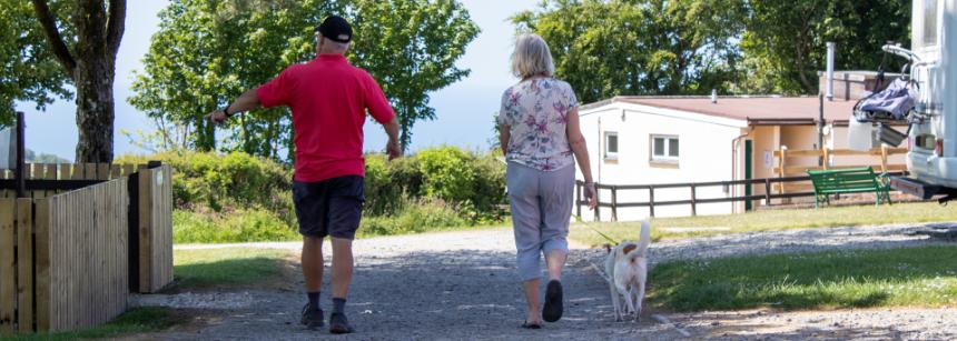 Lynton campsite