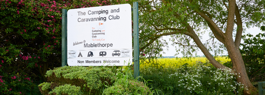 Entrance and Facilities at the Mablethorpe Camp Site, Lincolnshire