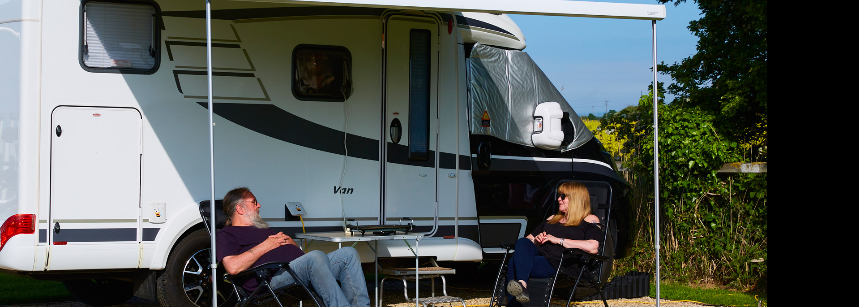 Children'S Play Area Surrounded by Some of the Grass Pitches at Mablethorpe Camp Site, Lincolnshire