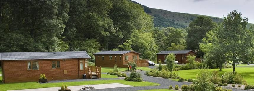 Self Catering facilities at the Rhandirmwyn Camp Site. Carmarthenshire