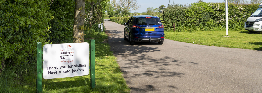 Some of the Scenic Grass Pitches at the Sheriff Hutton Campsite, Yorkshire