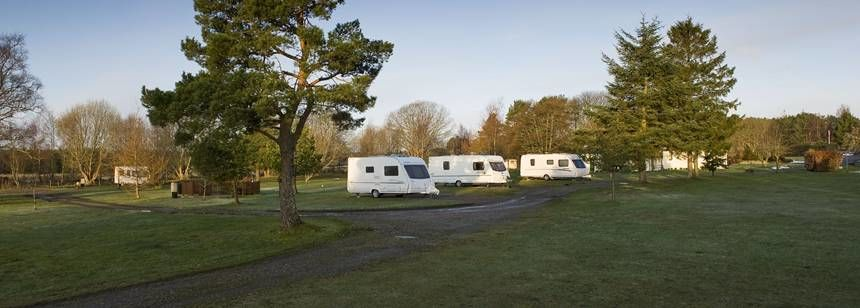 The Speyside Campsite Overlooked by the Stunning Countryside of Moray Speyside Campsite, Moray