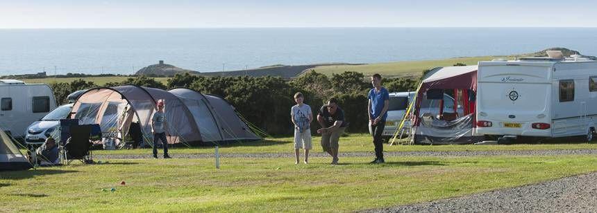 St Davids campsite