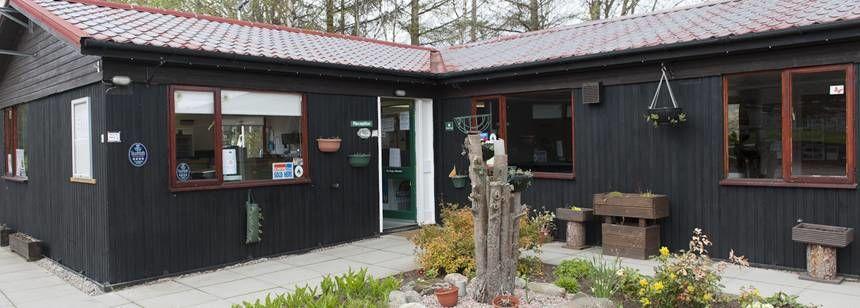 Tarland Club Site reception