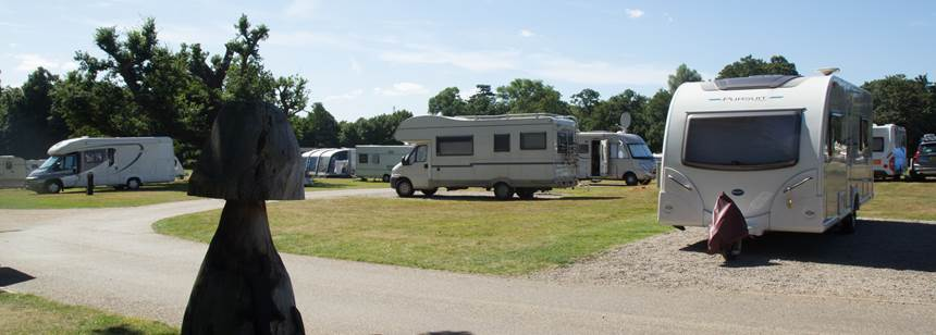 Some of the Wonderful Self Catering Facilities at the Theobalds Park Camp Site, Hertfordshire