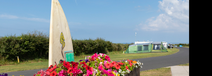 Tregurrian Campsite Explore Cornwall From Tregurrian Campsite The Camping Amp Caravanning Club