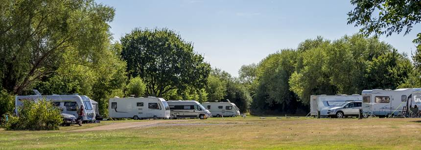 Some of the Facilities at the Walton-On-Thames Camp Site, Surrey