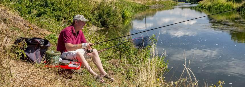 Walton on Thames fishing