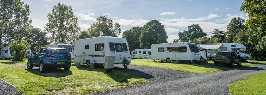 wolverley campsite pitches